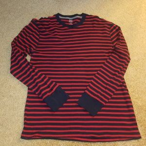 Old Navy Thermal Striped Long Sleeve Top